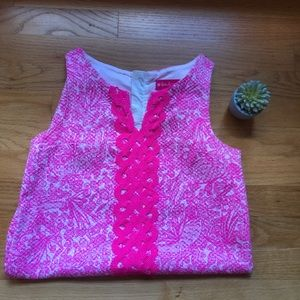 Lilly Pulitzer Pink dress size 10-12